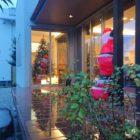映り込むクリスマス
